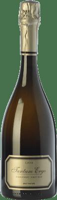 24,95 € Envío gratis | Espumoso blanco Hispano-Suizas Tantum Ergo Chardonnay Reserva D.O. Cava Cataluña España Pinot Negro, Chardonnay Botella 75 cl