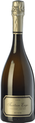 29,95 € Free Shipping | White sparkling Hispano-Suizas Tantum Ergo Chardonnay Reserva D.O. Cava Catalonia Spain Pinot Black, Chardonnay Bottle 75 cl