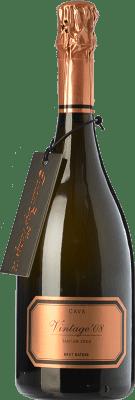 44,95 € Envío gratis | Espumoso blanco Hispano-Suizas Tantum Ergo Vintage Gran Reserva D.O. Cava Cataluña España Pinot Negro, Chardonnay Botella 75 cl