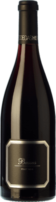 29,95 € Free Shipping | Red wine Hispano-Suizas Bassus Joven D.O. Utiel-Requena Valencian Community Spain Pinot Black Bottle 75 cl