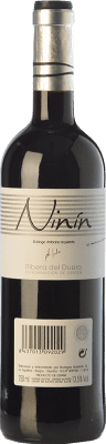 7,95 € Free Shipping | Red wine Bodegas Izquierdo Ninín Joven D.O. Ribera del Duero Castilla y León Spain Tempranillo Bottle 75 cl