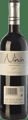 7,95 € Envío gratis | Vino tinto Bodegas Izquierdo Ninín Joven D.O. Ribera del Duero Castilla y León España Tempranillo Botella 75 cl