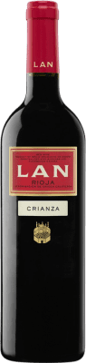 8,95 € Free Shipping | Red wine Lan Crianza D.O.Ca. Rioja The Rioja Spain Tempranillo Bottle 75 cl