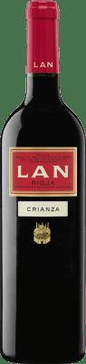 7,95 € Envío gratis | Vino tinto Lan Crianza D.O.Ca. Rioja La Rioja España Tempranillo Botella 75 cl