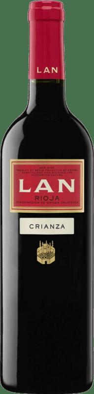 7,95 € Envío gratis   Vino tinto Lan Crianza D.O.Ca. Rioja La Rioja España Tempranillo Botella 75 cl