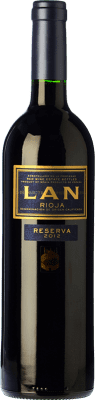 13,95 € Free Shipping | Red wine Lan Reserva 2011 D.O.Ca. Rioja The Rioja Spain Tempranillo, Graciano, Mazuelo Bottle 75 cl
