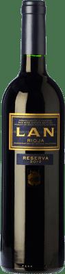 14,95 € Envoi gratuit | Vin rouge Lan Reserva 2011 D.O.Ca. Rioja La Rioja Espagne Tempranillo, Graciano, Mazuelo Bouteille 75 cl