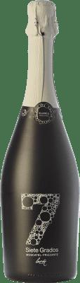 7,95 € Kostenloser Versand | Weißer Sekt Luzón Frizzante Siete Grados Spanien Muscat von Alexandria Flasche 75 cl