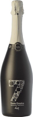 9,95 € Free Shipping | White sparkling Luzón Frizzante Siete Grados Spain Muscat of Alexandria Bottle 75 cl. | Thousands of wine lovers trust us to get the best price guarantee, free shipping always and hassle-free shopping and returns.