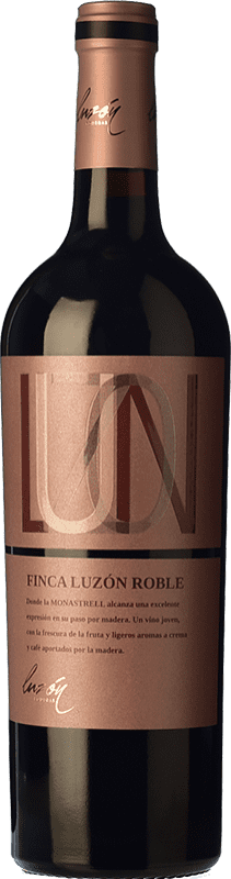 7,95 € Free Shipping | Red wine Luzón Roble D.O. Jumilla Castilla la Mancha Spain Monastrell Bottle 75 cl
