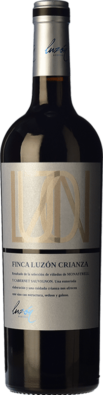 9,95 € Free Shipping | Red wine Luzón Selección 12 Meses Crianza D.O. Jumilla Castilla la Mancha Spain Tempranillo, Merlot, Cabernet Sauvignon, Monastrell Bottle 75 cl
