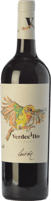 4,95 € Kostenloser Versand | Rotwein Luzón Verdecillo Joven D.O. Jumilla Kastilien-La Mancha Spanien Monastrell Flasche 75 cl
