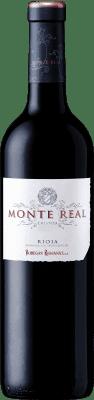 9,95 € Kostenloser Versand | Rotwein Bodegas Riojanas Monte Real Crianza D.O.Ca. Rioja La Rioja Spanien Tempranillo Flasche 75 cl