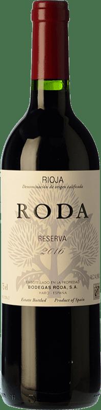 26,95 € Envoi gratuit | Vin rouge Bodegas Roda Reserva D.O.Ca. Rioja La Rioja Espagne Tempranillo, Graciano Bouteille 75 cl