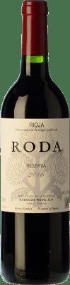 111,95 € Free Shipping | Red wine Bodegas Roda Reserva D.O.Ca. Rioja The Rioja Spain Tempranillo, Grenache, Graciano Jéroboam Bottle-Double Magnum 3 L