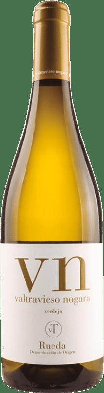 8,95 € Free Shipping | White wine Valtravieso Dominio de Nogara D.O. Rueda Castilla y León Spain Verdejo Bottle 75 cl