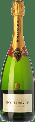 45,95 € 免费送货 | 白起泡酒 Bollinger Spécial Cuvée 香槟 Gran Reserva A.O.C. Champagne 香槟酒 法国 Pinot Black, Chardonnay, Pinot Meunier 瓶子 75 cl | 成千上万的葡萄酒爱好者信赖我们,保证最优惠的价格,免费送货,购买和退货,没有复杂性.