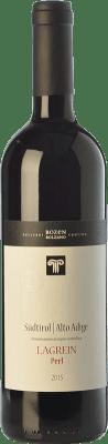 14,95 € Free Shipping | Red wine Bolzano Perl D.O.C. Alto Adige Trentino-Alto Adige Italy Lagrein Bottle 75 cl