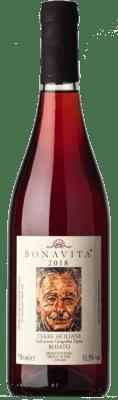 24,95 € Free Shipping   Rosé wine Bonavita Rosato I.G.T. Terre Siciliane Sicily Italy Nerello Mascalese, Nerello Cappuccio, Nocera Bottle 75 cl