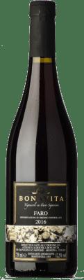 33,95 € Free Shipping   Red wine Bonavita D.O.C. Faro Sicily Italy Nerello Mascalese, Nerello Cappuccio, Nocera Bottle 75 cl