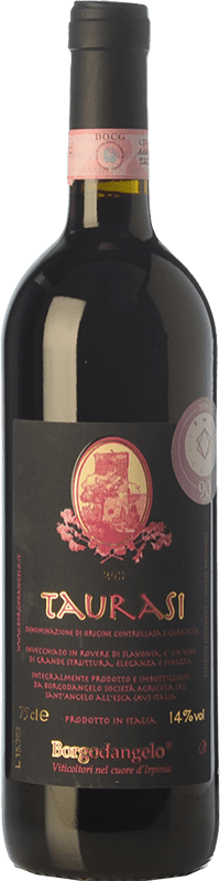 16,95 € Free Shipping | Red wine Borgodangelo D.O.C.G. Taurasi Campania Italy Aglianico Bottle 75 cl