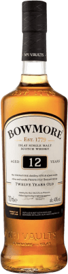 36,95 € Free Shipping | Whisky Single Malt Bowmore 12 Islay United Kingdom Bottle 75 cl