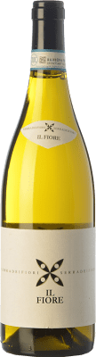 9,95 € Kostenloser Versand | Weißwein Braida Bianco Il Fiore D.O.C. Langhe Piemont Italien Chardonnay, Nascetta Flasche 75 cl