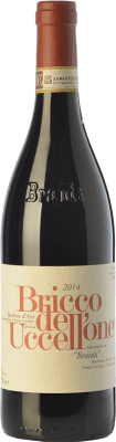 57,95 € Kostenloser Versand | Rotwein Braida Bricco dell'Uccellone D.O.C. Barbera d'Asti Piemont Italien Barbera Flasche 75 cl
