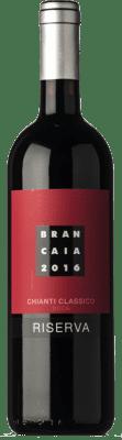 28,95 € Free Shipping | Red wine Brancaia Riserva Reserva D.O.C.G. Chianti Classico Tuscany Italy Merlot, Sangiovese Bottle 75 cl