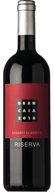 28,95 € Envío gratis | Vino tinto Brancaia Riserva Reserva D.O.C.G. Chianti Classico Toscana Italia Merlot, Sangiovese Botella 75 cl