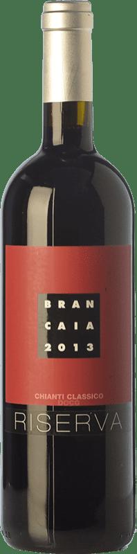 53,95 € Envío gratis | Vino tinto Brancaia Riserva Reserva D.O.C.G. Chianti Classico Toscana Italia Merlot, Sangiovese Botella Mágnum 1,5 L