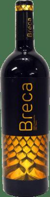 13,95 € Free Shipping | Red wine Breca Crianza D.O. Calatayud Aragon Spain Grenache Bottle 75 cl