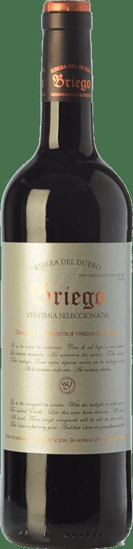 8,95 € Envoi gratuit   Vin rouge Briego Vendimia Seleccionada Joven D.O. Ribera del Duero Castille et Leon Espagne Tempranillo Bouteille 75 cl