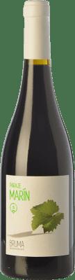 7,95 € Envío gratis | Vino tinto Bruma del Estrecho Paraje Marín Joven D.O. Jumilla Castilla la Mancha España Monastrell Botella 75 cl