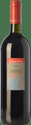18,95 € Free Shipping | Red wine Bruno Verdi Campo del Marrone D.O.C. Oltrepò Pavese Lombardia Italy Barbera Bottle 75 cl