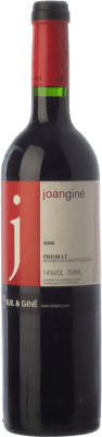 24,95 € Free Shipping | Red wine Buil & Giné Joan Giné Crianza D.O.Ca. Priorat Catalonia Spain Grenache, Cabernet Sauvignon, Carignan Bottle 75 cl