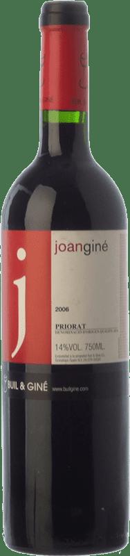 21,95 € Free Shipping | Red wine Buil & Giné Joan Giné Crianza D.O.Ca. Priorat Catalonia Spain Grenache, Cabernet Sauvignon, Carignan Bottle 75 cl