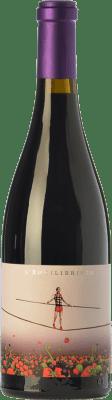 16,95 € Envío gratis | Vino tinto Ca N'Estruc L'Equilibrista Crianza D.O. Catalunya Cataluña España Syrah, Garnacha, Cariñena Botella 75 cl