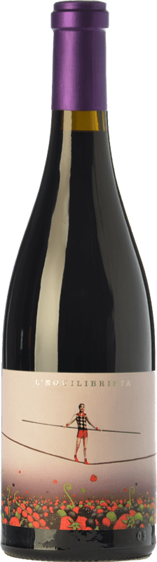 16,95 € Free Shipping | Red wine Ca N'Estruc L'Equilibrista Crianza D.O. Catalunya Catalonia Spain Syrah, Grenache, Carignan Bottle 75 cl