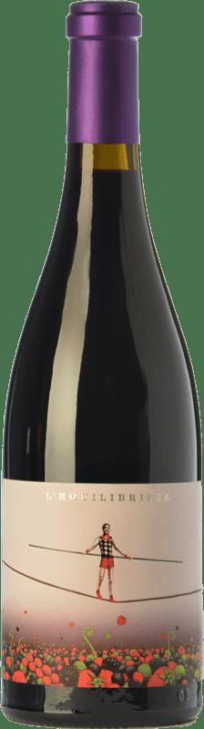26,95 € Envío gratis | Vino tinto Ca N'Estruc L'Equilibrista Crianza D.O. Catalunya Cataluña España Syrah, Garnacha, Cariñena Botella Mágnum 1,5 L