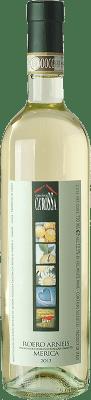 14,95 € Free Shipping | White wine Ca' Rossa Merica D.O.C.G. Roero Piemonte Italy Arneis Bottle 75 cl