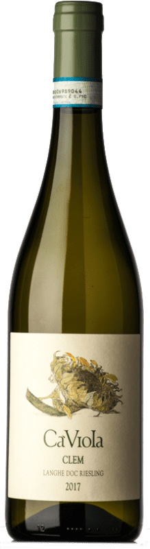 21,95 € Free Shipping   White wine Ca' Viola D.O.C. Langhe Piemonte Italy Riesling Bottle 75 cl