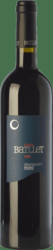 28,95 € Envío gratis | Vino tinto Cal Batllet Closa Crianza D.O.Ca. Priorat Cataluña España Merlot, Syrah, Garnacha, Cabernet Sauvignon, Cariñena Botella 75 cl