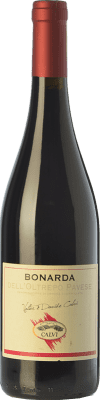 7,95 € Free Shipping | Red wine Calvi Bonarda Vivace D.O.C. Oltrepò Pavese Lombardia Italy Croatina Bottle 75 cl