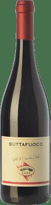 9,95 € Free Shipping | Red wine Calvi Buttafuoco D.O.C. Oltrepò Pavese Lombardia Italy Barbera, Croatina, Rara, Ughetta Bottle 75 cl