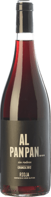 5,95 € Free Shipping | Red wine Campo Viejo Al Pan Pan Crianza D.O.Ca. Rioja The Rioja Spain Tempranillo Bottle 75 cl
