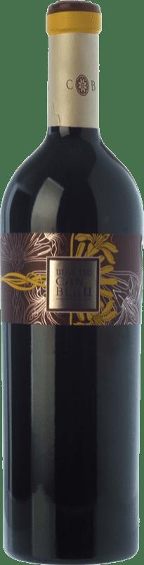 37,95 € Envío gratis | Vino tinto Can Blau Mas Crianza D.O. Montsant Cataluña España Syrah, Garnacha, Cariñena Botella 75 cl