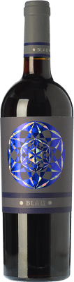 8,95 € Free Shipping | Red wine Can Blau Joven D.O. Montsant Catalonia Spain Syrah, Grenache, Carignan Bottle 75 cl