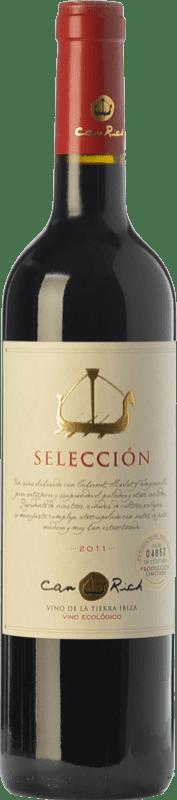 13,95 € Free Shipping | Red wine Can Rich Selección Joven I.G.P. Vi de la Terra de Ibiza Balearic Islands Spain Cabernet Sauvignon Bottle 75 cl