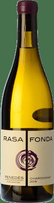 11,95 € Envío gratis | Vino blanco Can Vich Fermentat en Bóta Crianza D.O. Penedès Cataluña España Chardonnay Botella 75 cl